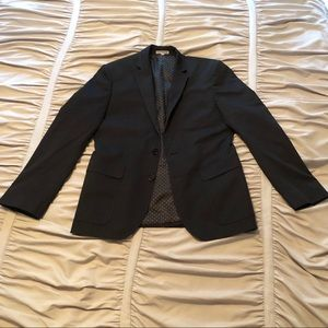 Express Photographer Fitted Suit Jacket